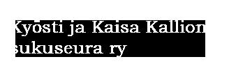 Kyösti ja Kaisa Kallion sukuseura ry